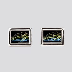 OBE Large Rectangular Cufflinks