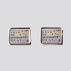 Der Ring des Nibelungen Family Tree Cufflinks