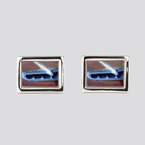 Flying Low Rectangular Cufflinks