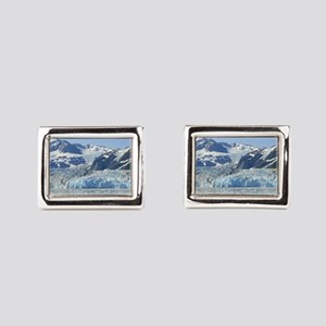 Where Glacier Meets Ocean Rectangular Cufflinks