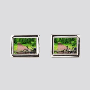 Bike Trail Cufflinks