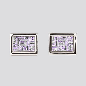 Gymnastics Messenger Bag Cufflinks