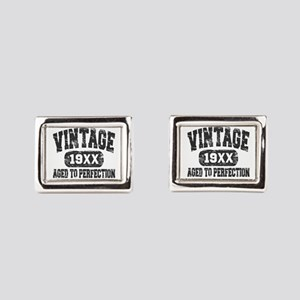 Personalize Vintage Aged To Perfection Rectangular