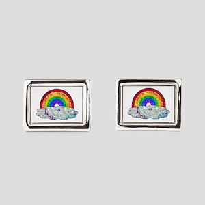 Glitter & Be Gay Rectangular Cufflinks
