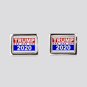 Trump 2020 Rectangular Cufflinks