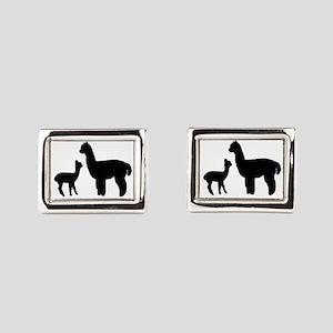 Alpaca Outbacka Logo Cufflinks