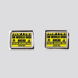 illuminati new world order 911 Cufflinks