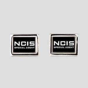 NCIS SPECIAL AGENT Rectangular Cufflinks
