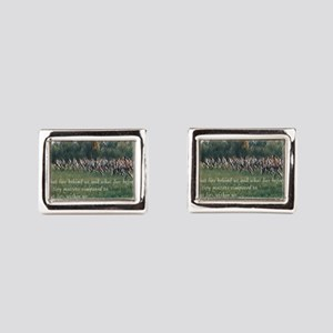 Running a Race Rectangular Cufflinks