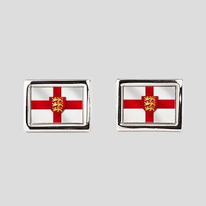 England Three Lions Flag Cufflinks