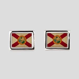 Florida State Flag VINTAGE Rectangular Cufflinks