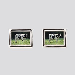 I Love You Cow Rectangular Cufflinks