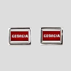 GEORGIA Rectangular Cufflinks