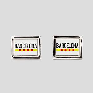 Catalunya: Barcelona Rectangular Cufflinks