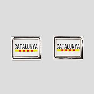 Catalunya Rectangular Cufflinks