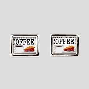 Twin Peaks Damn Fine Coffee Cufflinks