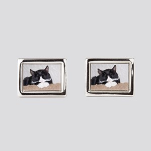 Sweet Kitty Rectangular Cufflinks