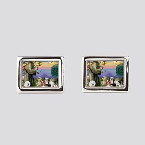 Saint Francis  10 dogs Cufflinks