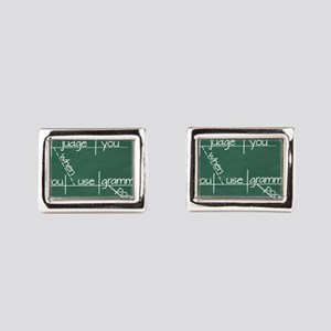 I judge you when you use poor grammar. Cufflinks