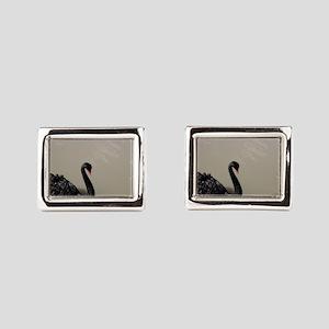 black swan Cufflinks