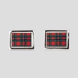 Royal Stewart Tartan2 Cufflinks