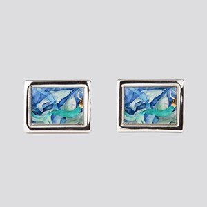 Dolphins and Mermaid party Cufflinks