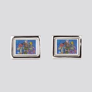 We Three Kings Rectangular Cufflinks