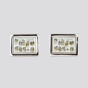 Scenes from Pride and Prejud Rectangular Cufflinks