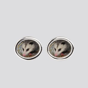 Snow Possum Cufflinks