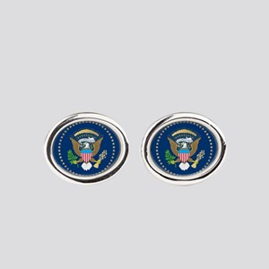 Presidential Seal Oval Cufflinks
