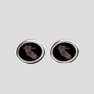 CALIF RIG UP CAMO Oval Cufflinks