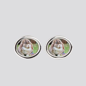 Easter Bunny Rabbit Cufflinks