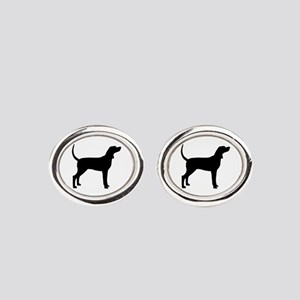 Coonhound Dog (#2) Cufflinks
