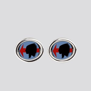 rvah5 Oval Cufflinks