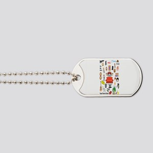 Friends TV Quote Collage Dog Tags