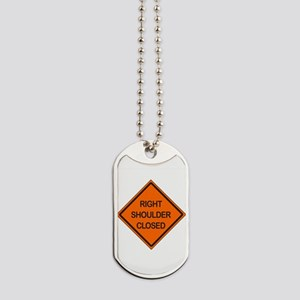 Right Shoulder Closed Dog Tags