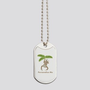 Personalized Monkey Dog Tags