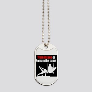 ENERGETIC GYMNAST Dog Tags