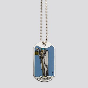 THE HERMIT TAROT CARD Dog Tags