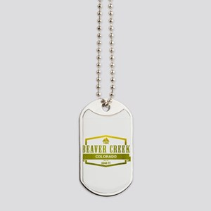 Beaver Creek Ski Resort Colorado Dog Tags