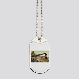 american express train Dog Tags