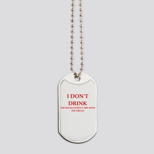 drink Dog Tags
