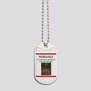 nebraska Dog Tags