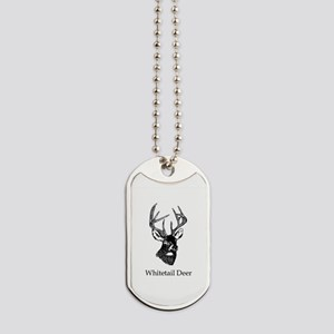 White Tailed Deer 10 Point Buck Dog Tags