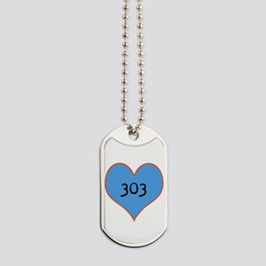 I Love Denver Dog Tags
