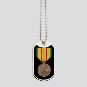 Vietnam Service Medal Dog Tags