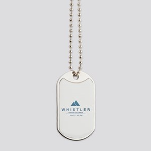 Whistler Ski Resort Dog Tags