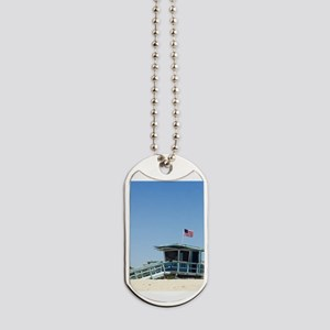 Santa Monica Lifeguard Tower Dog Tags