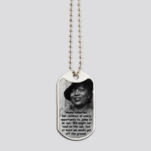 Zora Mama Quote Dog Tags