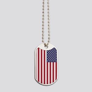 USA flag - Authentic high quality version Dog Tags